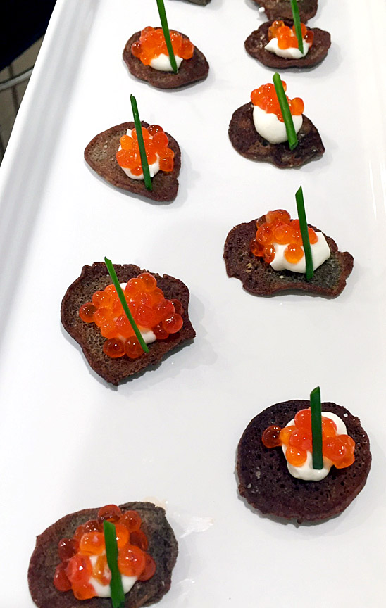 Bellini with Caviar